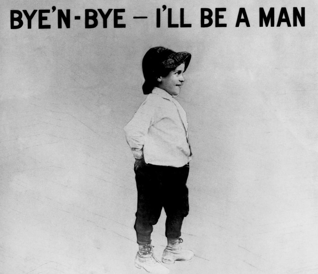 Plakat mot barnearbeid. Foto.