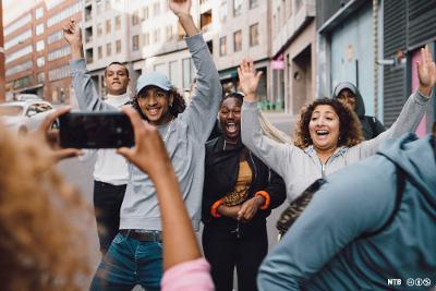 Gruppearbeid: Lag musikkvideo