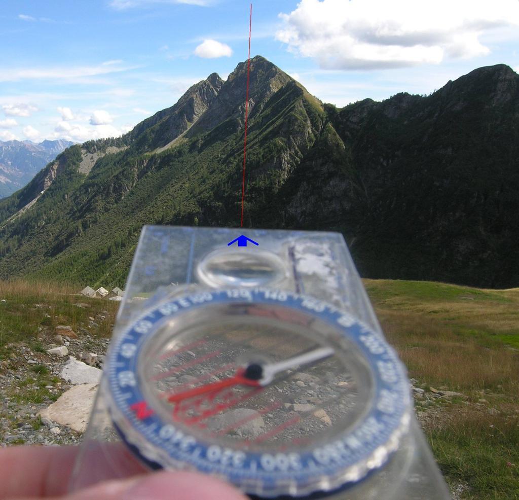 Kompasskurs. Foto.