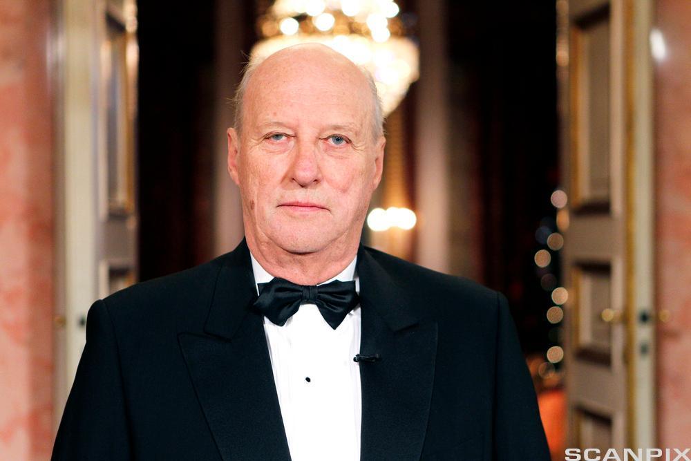 Hans Majestet Kong Harald. Foto.