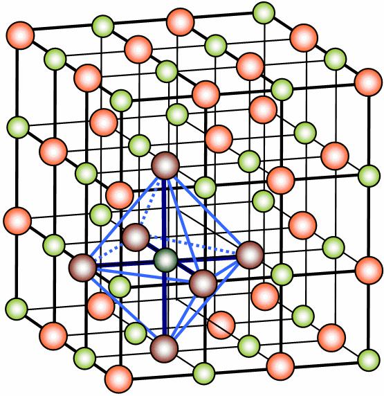 krystallgitter.ilustrasjon.