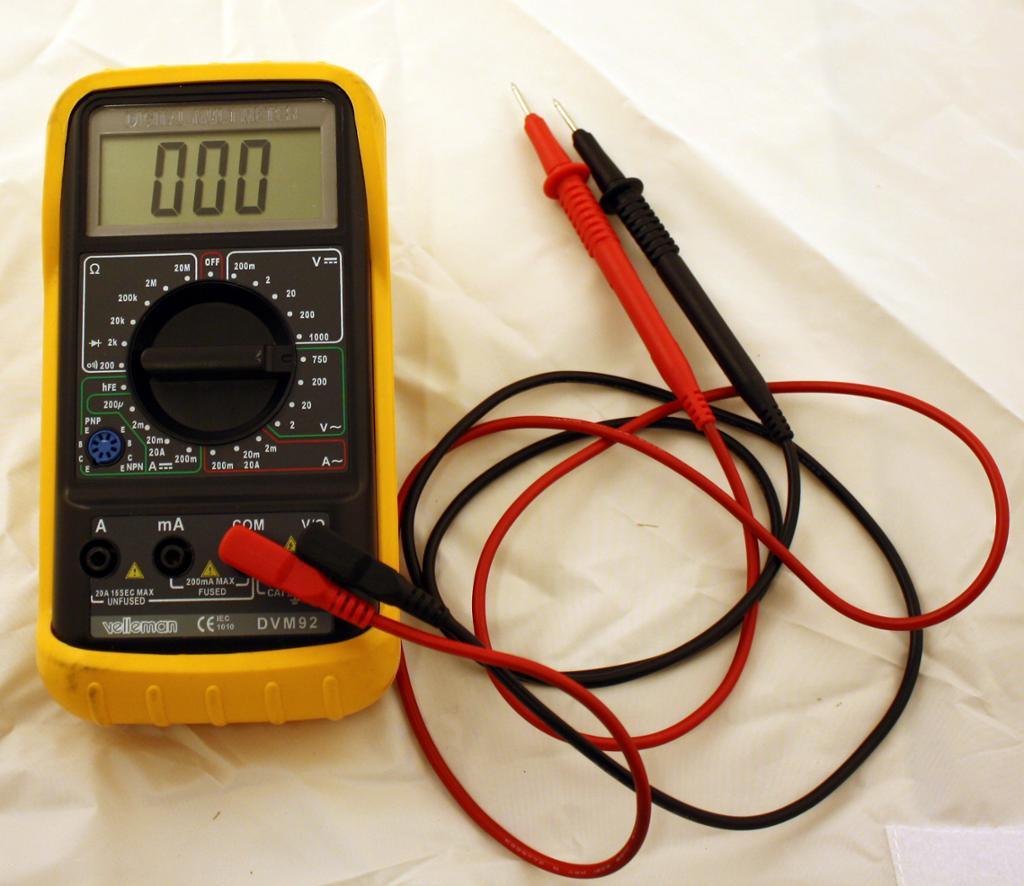 Multimeter. foto.