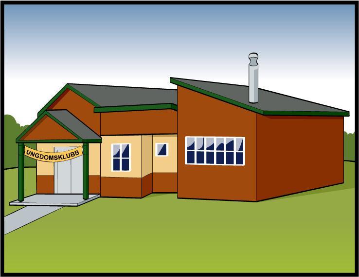 Hus fra utsiden. Bilde