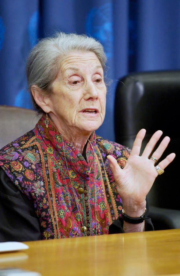 Nadine Gordimer. Photo.