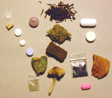 Narkotika. Foto.