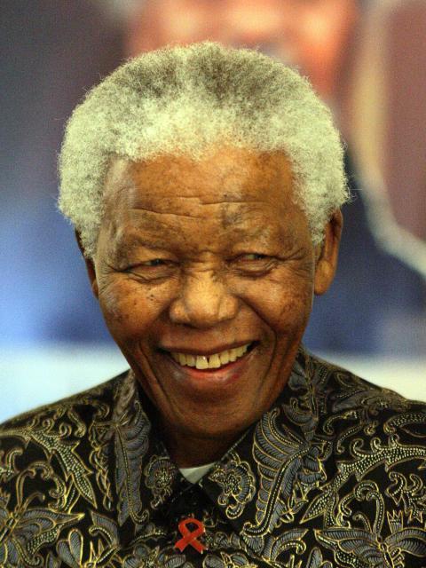 Nelson Mandela. Photo.
