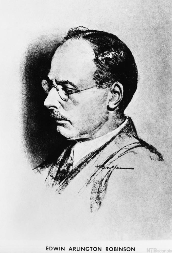 Picture of American Poet Edwin Arlington Robinson