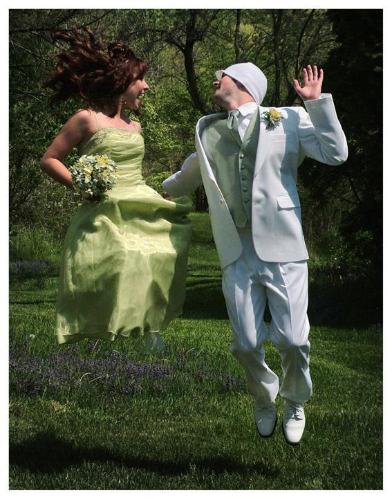 Prom Jump. Photo.