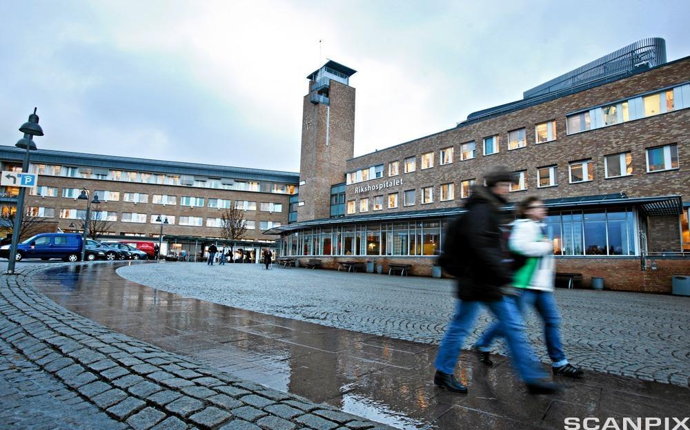 Rikshospitalet i Oslo. Foto.