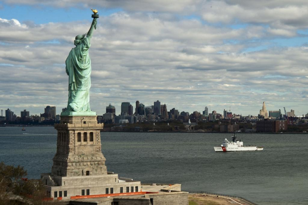 The Statue of Liberty. Photo.