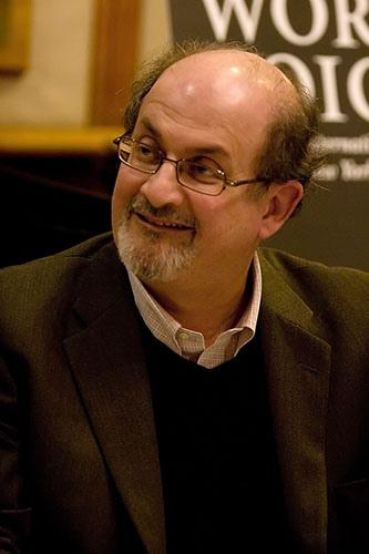 Salman Rushdie. Photo.