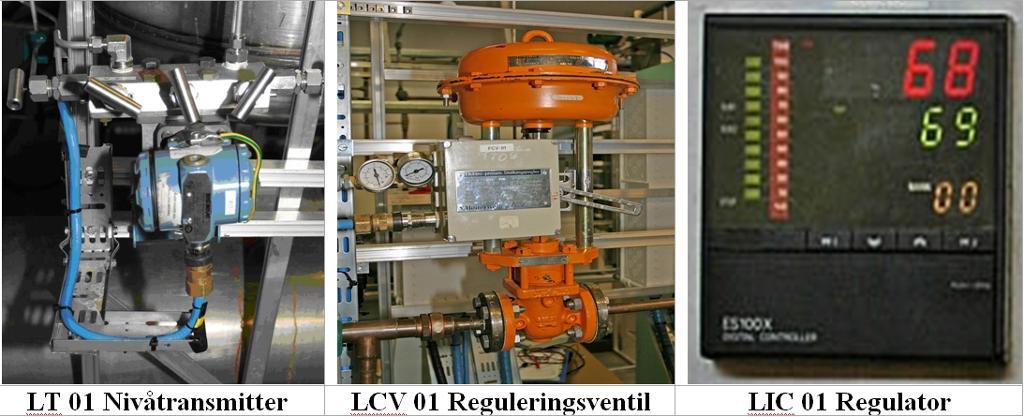 Utstyr i reguleringssløyfa. foto.