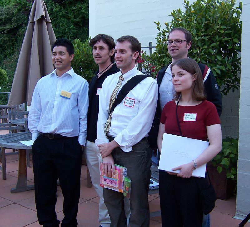 Scholarship Competition Winners. Photo.