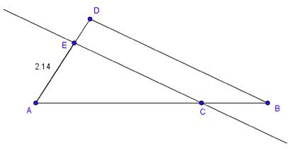 Bilde av konstruert trekant