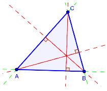 Bilde av trekanten ABC