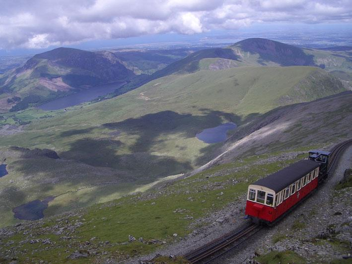 Snowdon Mountain Railway. Photo.