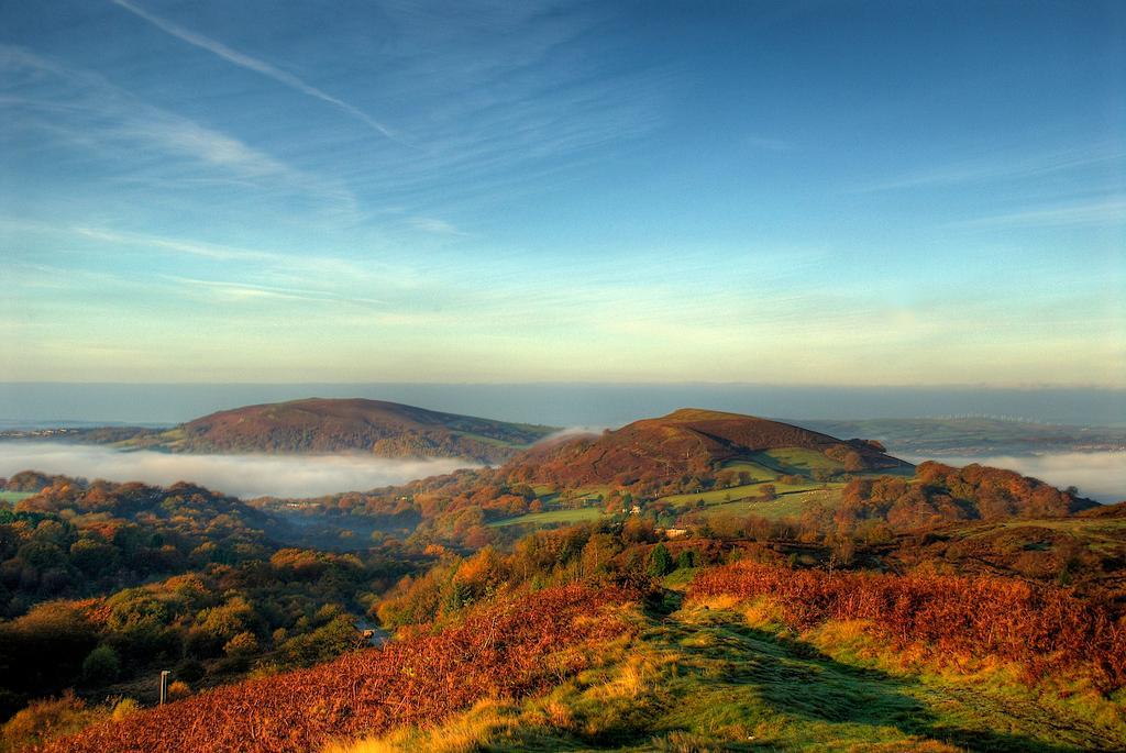 Taff Valley, Craig Yr Allt and the Garth, Wales