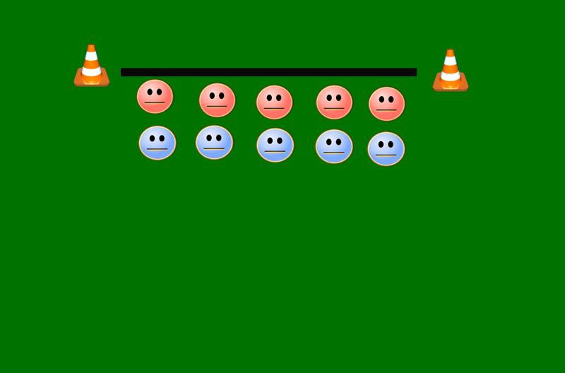 Illustrasjon av øvelsen.