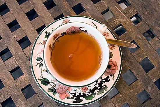Cup of tea. Photo.