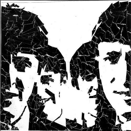 The Beatles (torn paper)