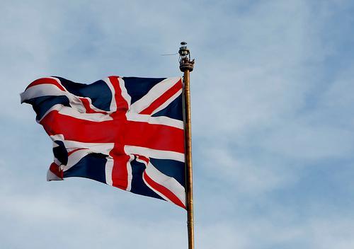 The Union Jack. Photo.