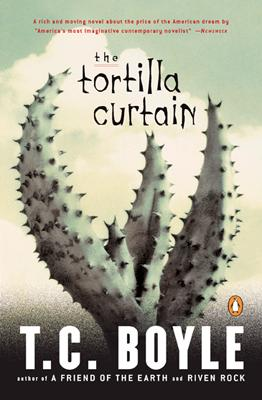Cover of The Tortilla Curtain. Foto.