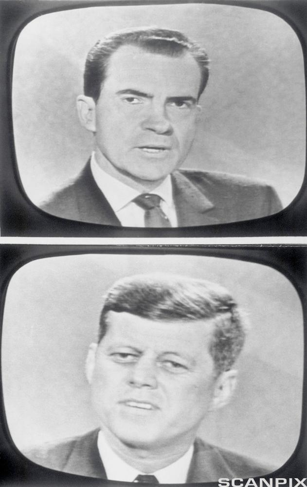 Richard Nixon and John F. Kennedy on Television