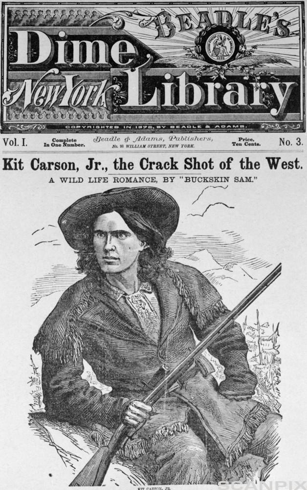Kit Carson, Crackshot of the West