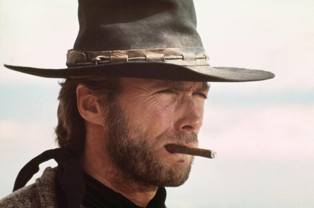 Clint Eastwood. Foto.