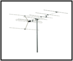 Bilde av en VHF-antenne