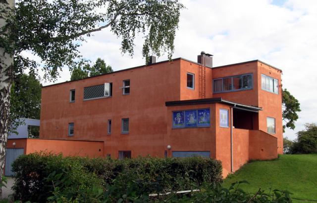 Villa Riise. Foto.