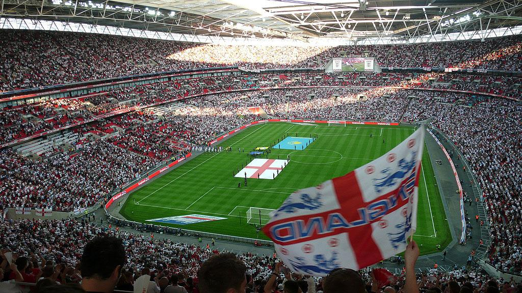 Wembley stadium. Photo.