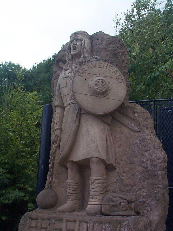 Braveheart statue