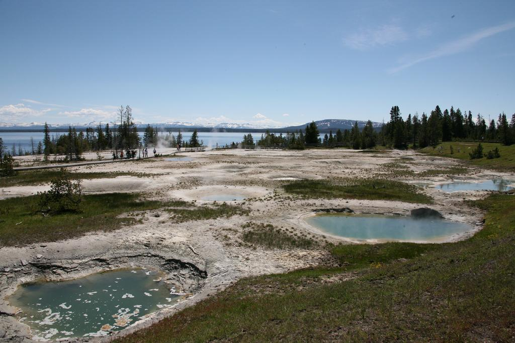 Yellowstone National Park landscape. Photo.