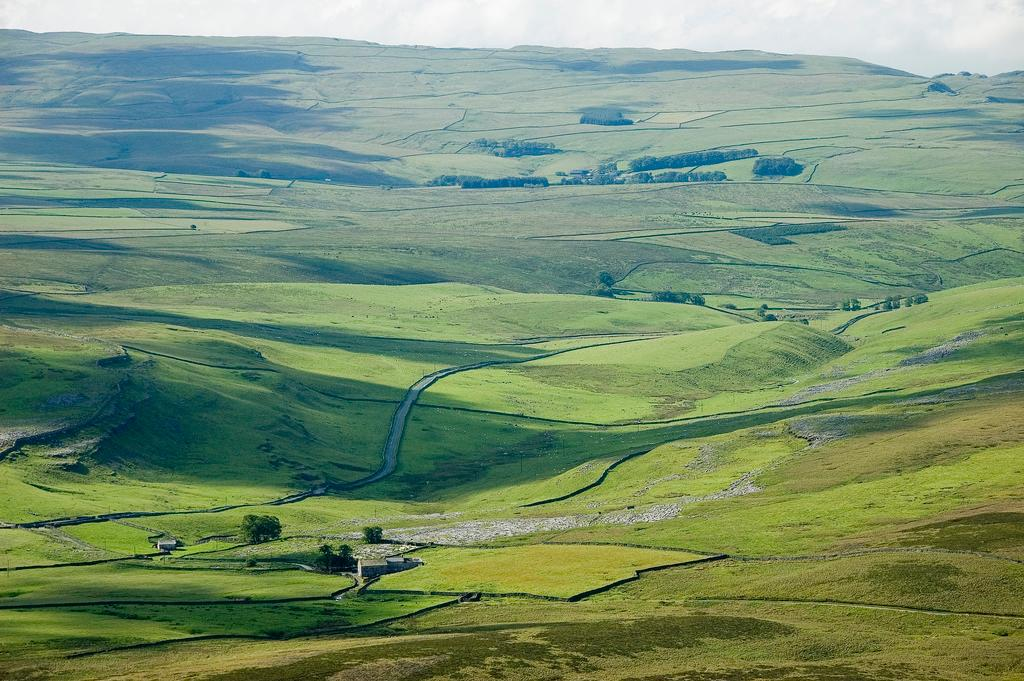 Scenery from the Yorkshire Dales. Photo.