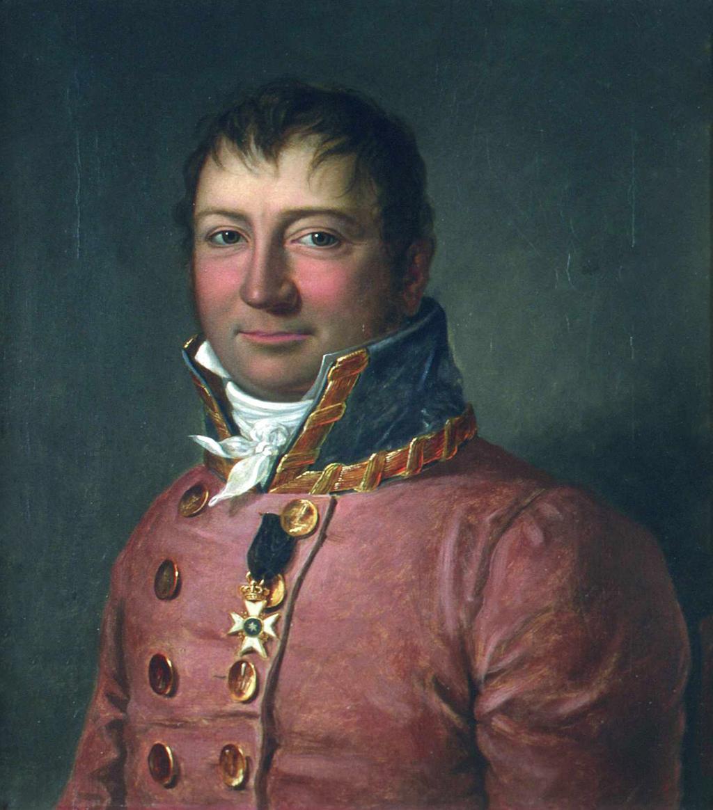 Portrett av Wilhelm Frimann Koren Christie