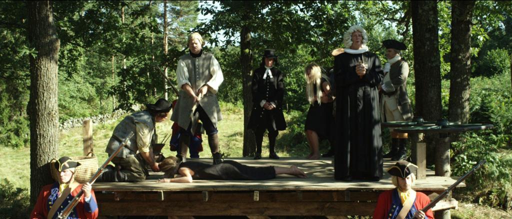 Anne blir halshugget