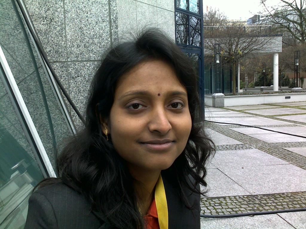 Indian woman. Foto.