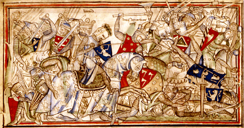 Harald Hardråde i slaget ved Stamford Bridge