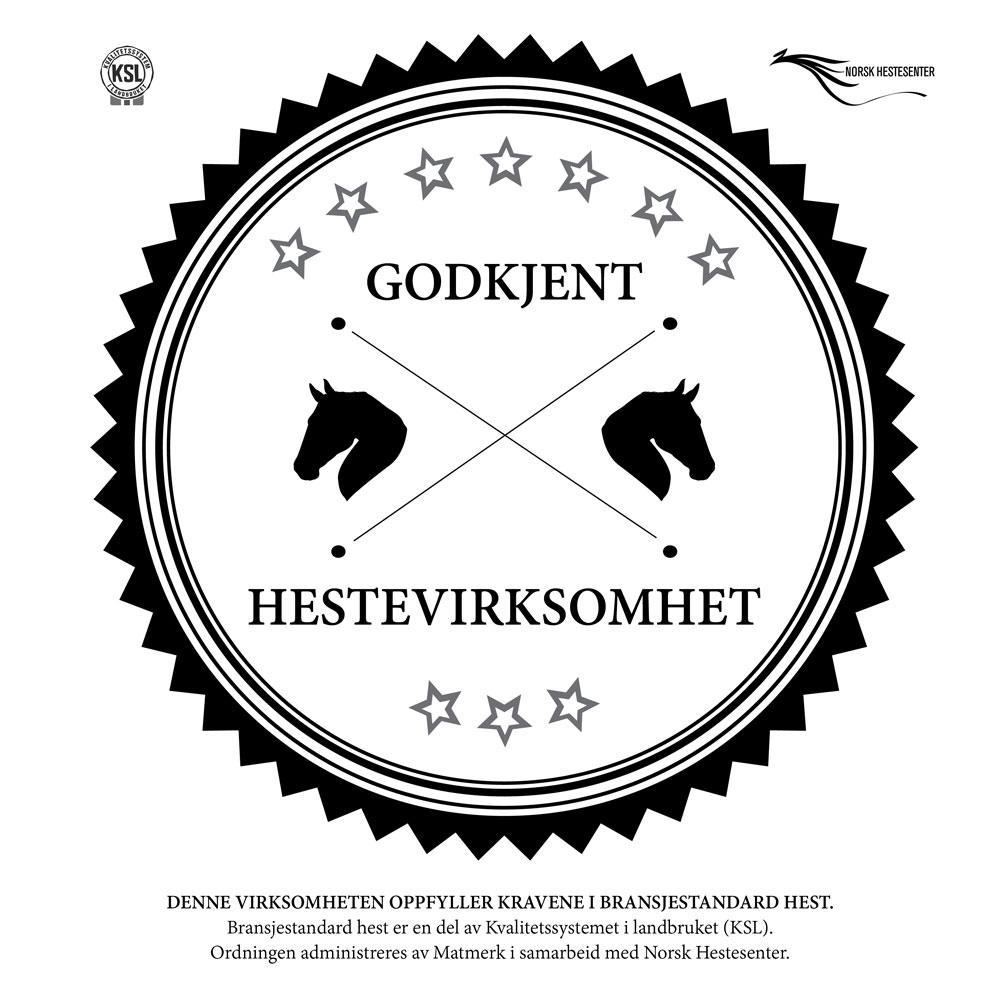 Bransjestandard hest. Logo. Bilde