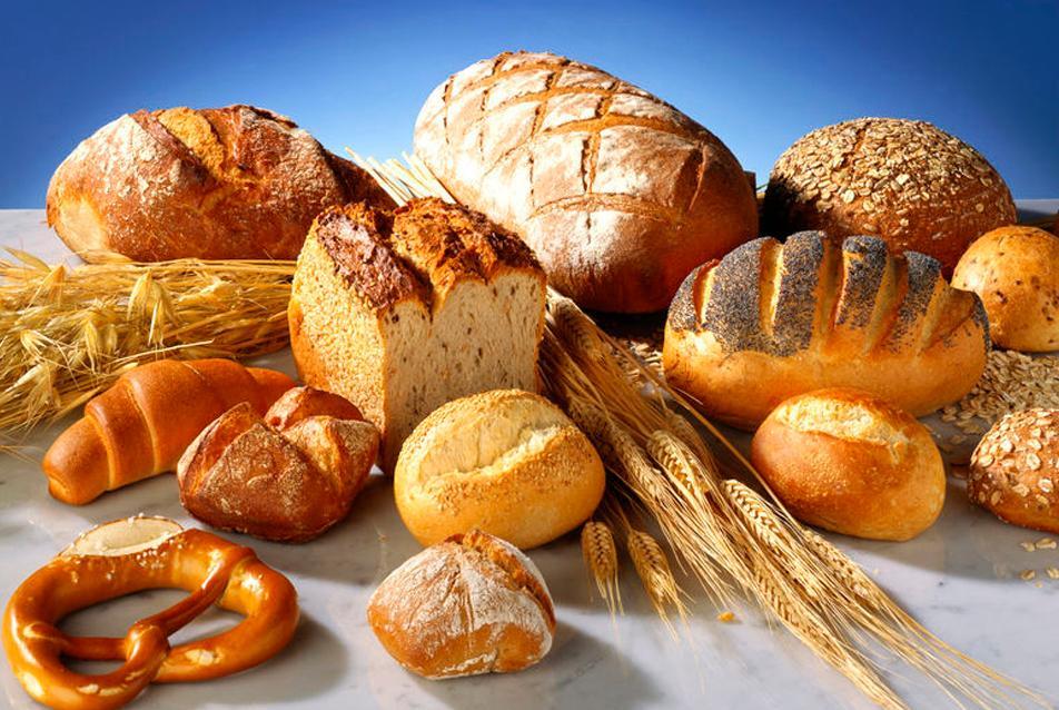 Brød og kornvarer. Foto.