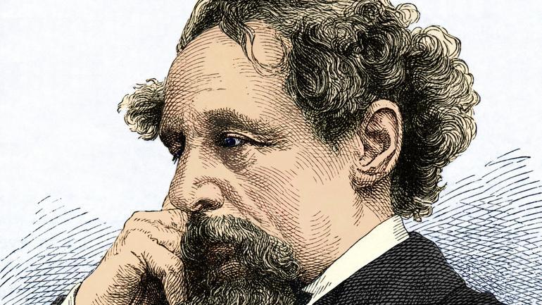 Charles Dickens. Foto.