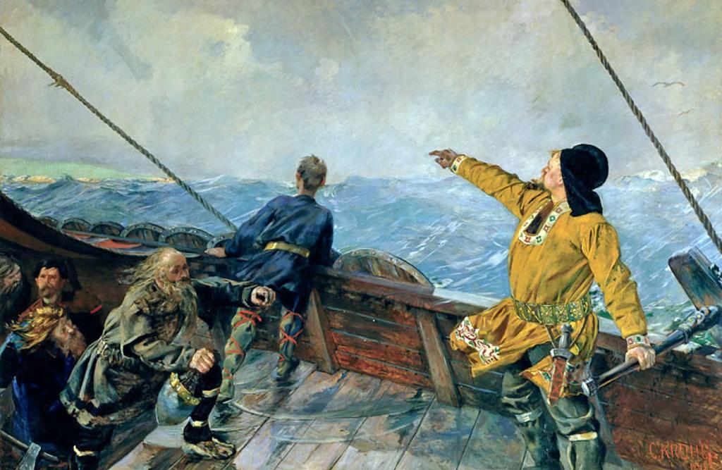Leiv Eriksson oppdager Nord Amerika