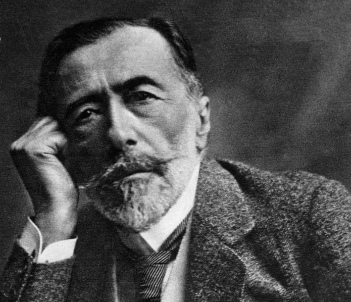 Forfatteren Joseph Conrad. Foto.