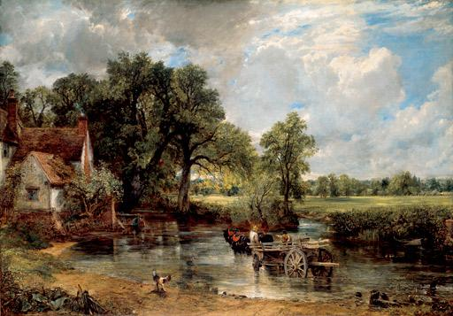 The Hay Wain (1821) by John Constable