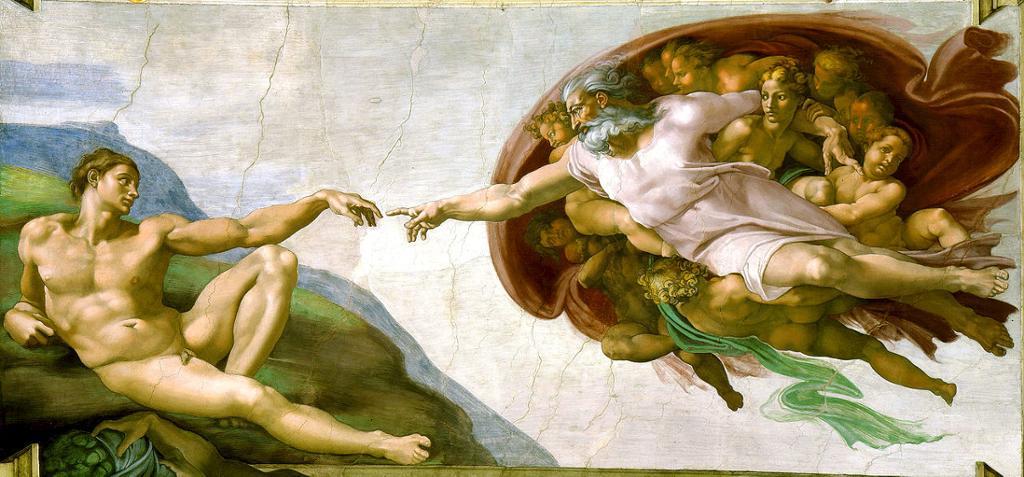 Gud skaper Adam
