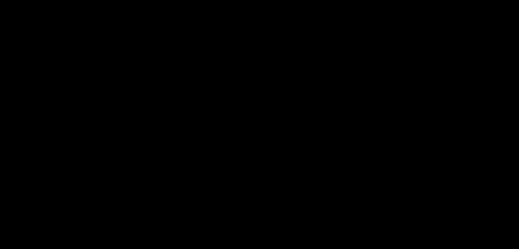 To strektegninger med blomstermotiv, linjer og abstrakte former i sorthvitt. Illustrasjon.