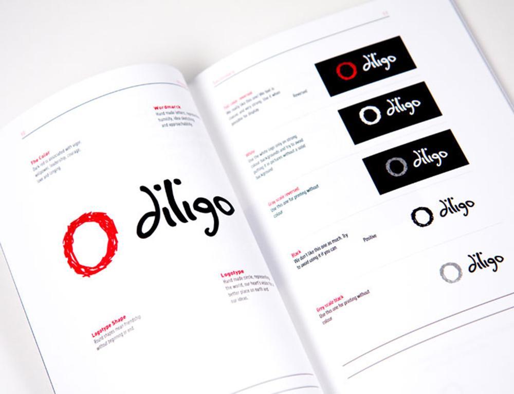 Eksempler på bruk av logo i ulike sammenhenger. Bilde.