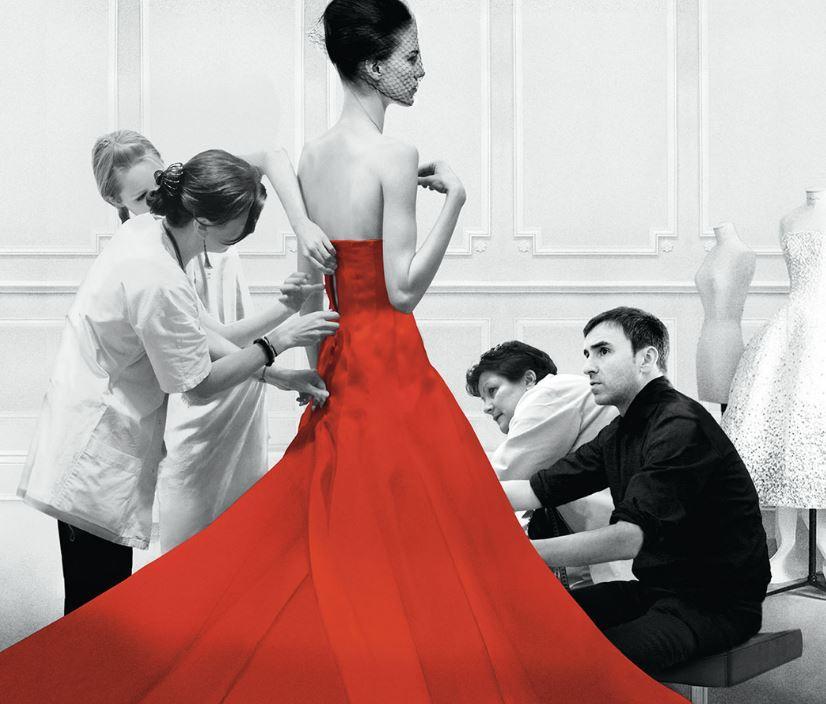 Bilde fra filmen Dior and I. Foto.