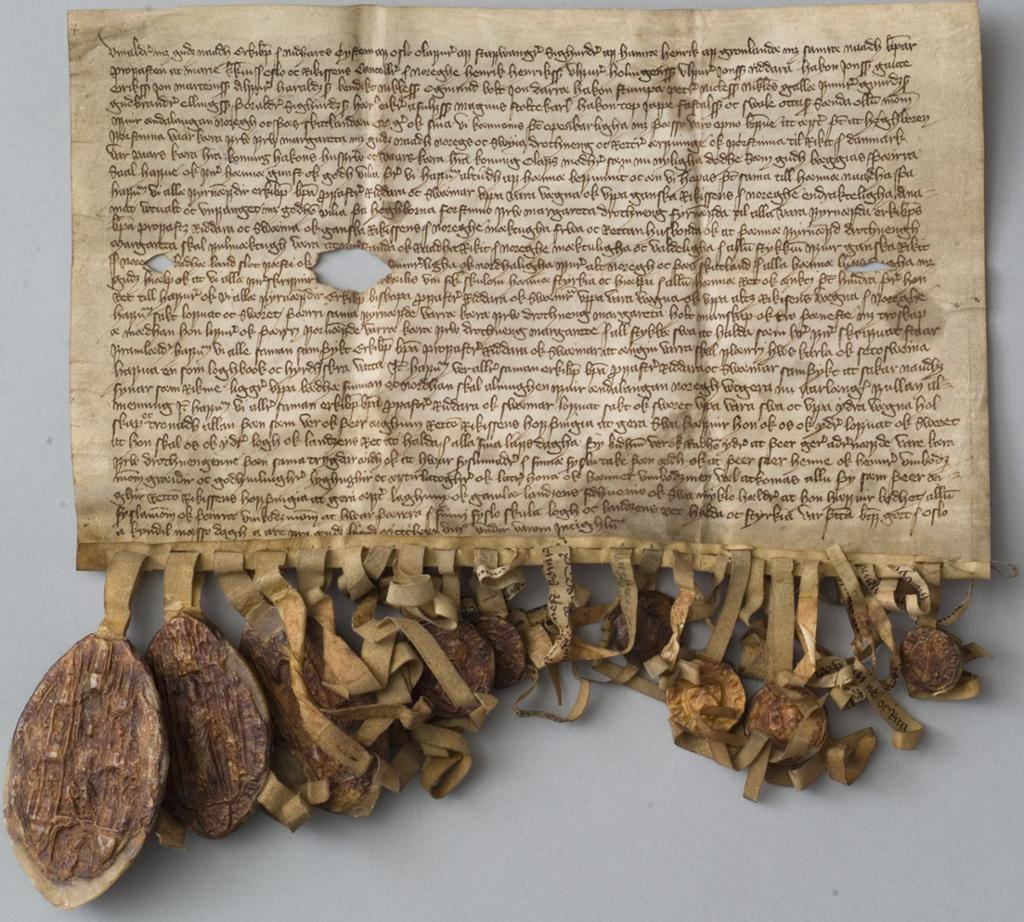 Dronning Margretes segl 1388